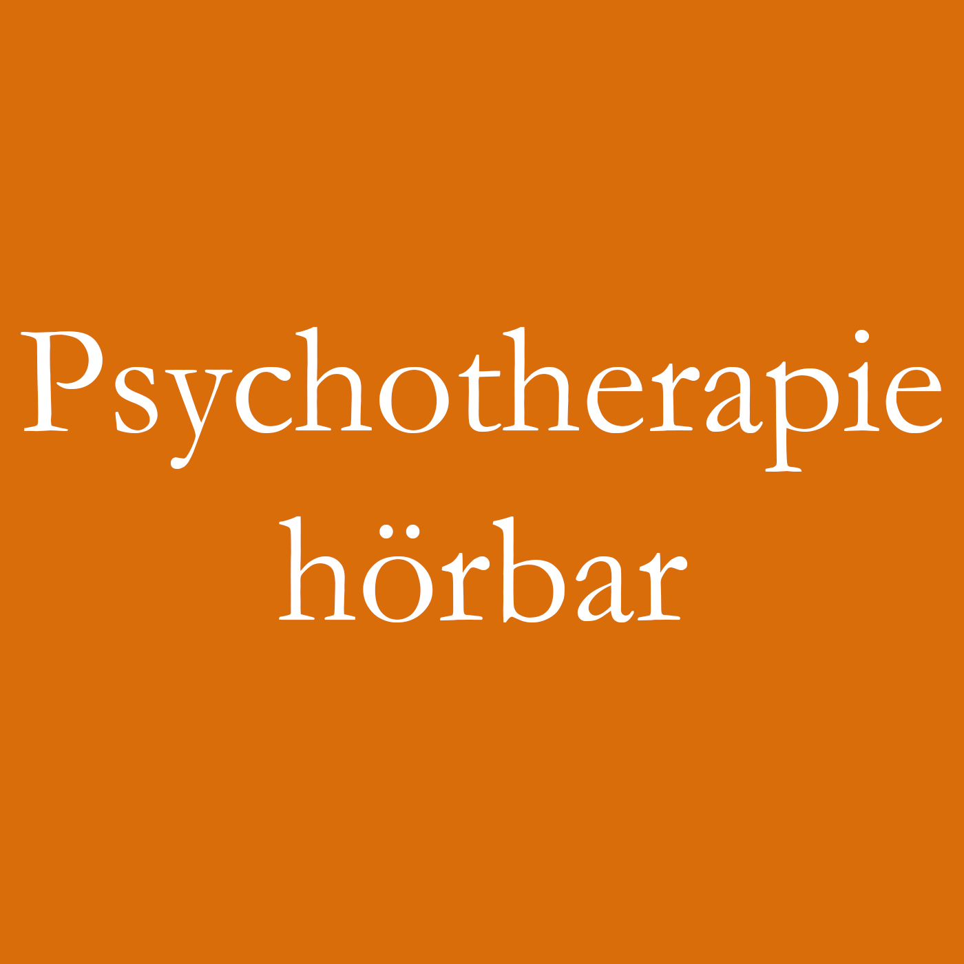 "Podcast ""Psychotherapie hörbar"""